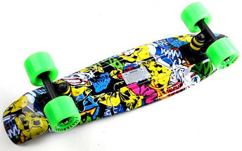"Скейт ""Penny Board"" ""Fish"" Joker., фото 2"