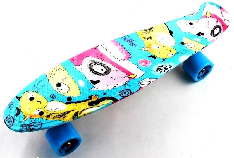 "Скейт ""Penny Board"" ""Cool cat"""