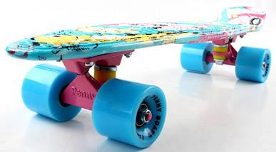 """Скейт """"Penny Board"""" """"Cool cat"""", фото 2"""