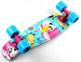 """Скейт """"Penny Board"""" """"Cool cat"""", фото 3"""