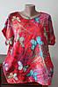 Блуза жіноча квітчаста