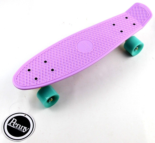 "Скейт ""Penny Board"" ""Pastel Series"" Лиловый цвет."