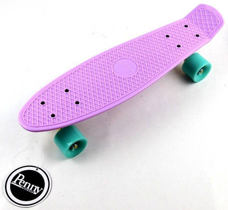 "Скейт ""Penny Board"" ""Pastel Series"" Лиловый цвет., фото 2"