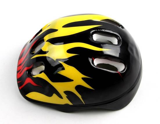 Шлем Black. Fire., фото 2