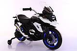 Ел-мобіль T-7220 мотоцикл 2*6V4.5AH мотор 2*14W 108*57*70, фото 2