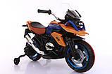 Ел-мобіль T-7220 мотоцикл 2*6V4.5AH мотор 2*14W 108*57*70, фото 3
