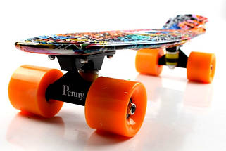 "Скейт ""Penny Board"" ""Cool Draft 2"" Graffiti, фото 3"
