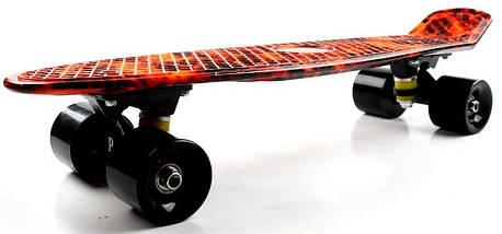 """Скейт """"Penny Board"""" """"Fire"""", фото 2"""