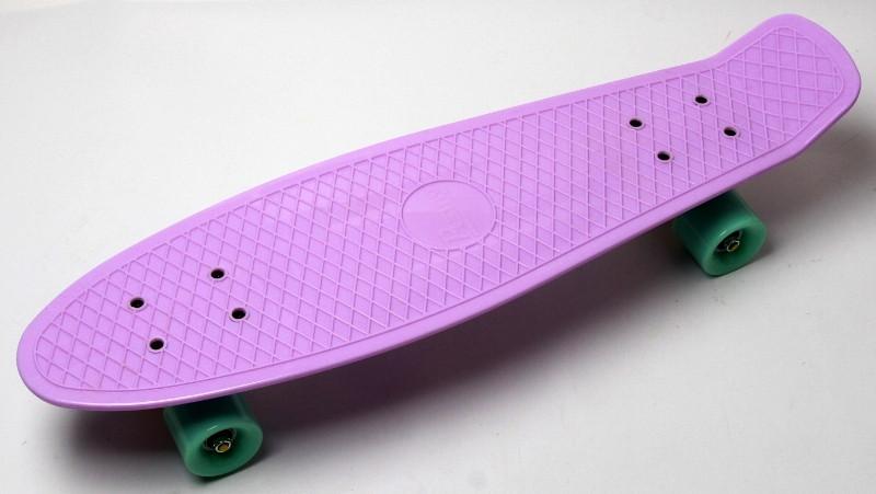 "Скейт ""Penny Board"" Nickel 27"" Лиловый цвет."