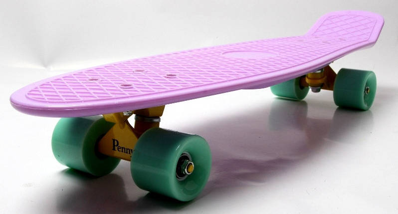 "Скейт ""Penny Board"" Nickel 27"" Лиловый цвет., фото 2"