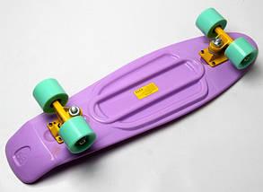 "Скейт ""Penny Board"" Nickel 27"" Лиловый цвет., фото 3"