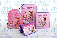 Набор школьный подарок первокласснику Kidis Собака №1-2