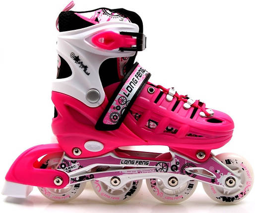 Ролики Scale Sport Pink размер 29-33, фото 2