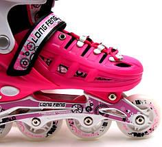Ролики Scale Sport Pink размер 29-33, фото 3