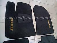 Ворсовые коврики передние RENAULT Dokker