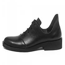 Туфли черные кожаные 902-00, фото 2