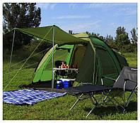 """Палатка туристическая KingCamp """"Roma 4"""" (Рома 4), фото 1"""