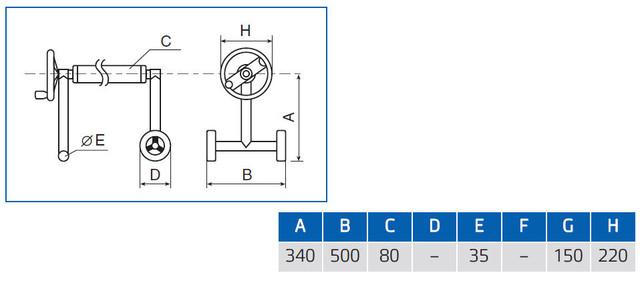 размеры сматывающего устройства для солярной пленки Vagner