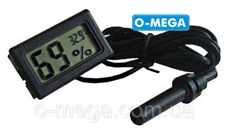 Термометр, гігрометр з виносним датчиком