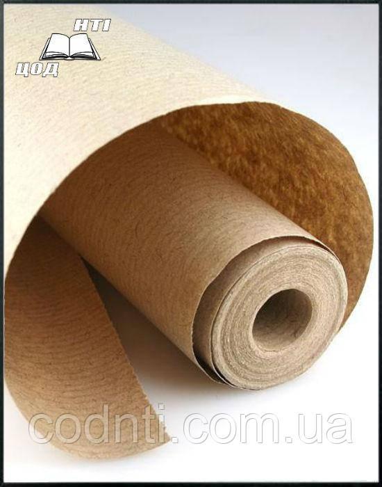 Крафт бумага (СЦБК) в рулоне плотность 70 г/м2. Рулон 20 метров