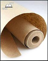 Крафт бумага (СЦБК) в рулоне плотность 70 г/м2. Рулон 20 метров, фото 1