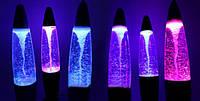 🔥✅ Светильник, ночник Лампа Торнадо Tornado Lamp высота 36см меняет цвет RGB, Разноцветная