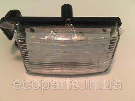 Ліхтар підсвічування заднього номера Nisssan Leaf (LED) комплект із 2 шт, фото 2