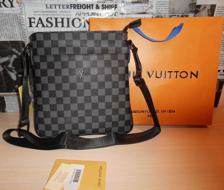 9d3ca10b0f1c Купить сейчас - Сумка мужская планшетка Louis Vuitton кожа, Франция ...