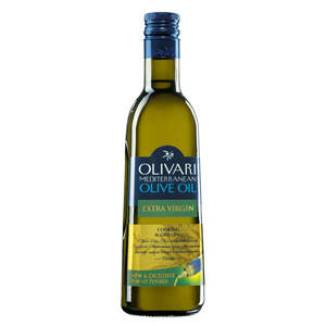 Оливковое масло первого холодного отжима Средиземноморское Extra Virgin Olivari - 750мл, фото 2