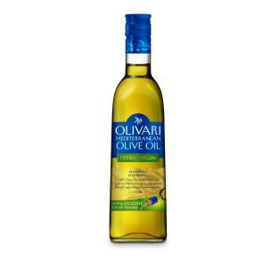 Оливковое масло первого холодного отжима Средиземноморское Extra Virgin Olivari - 500мл