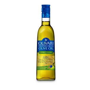 Оливковое масло первого холодного отжима Средиземноморское Extra Virgin Olivari - 500мл, фото 2