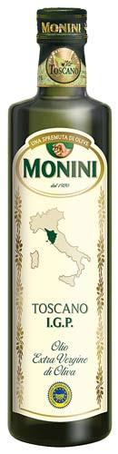 Оливковое масло первого холодного отжима из Тосканы IGP Extra Virgin Monini - 500 мл