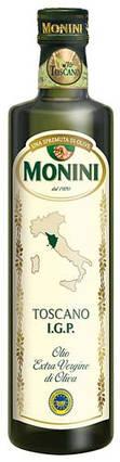 Оливковое масло первого холодного отжима из Тосканы IGP Extra Virgin Monini - 500 мл, фото 2