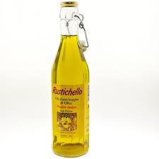 Оливковое масло первого холодного отжима нефильтрованное Extra Virgin Rustichello - 500мл