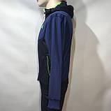 Чоловічий спортивний костюм Карра репліка Каппа темно - синій, фото 4