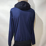 Чоловічий спортивний костюм Карра репліка Каппа темно - синій, фото 3