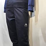 Чоловічий спортивний костюм Карра репліка Каппа темно - синій, фото 6