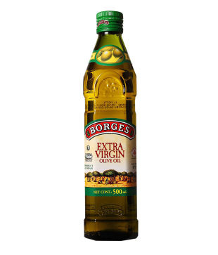 Оливковое масло первого холодного отжима Extra Virgin Borges - 500мл