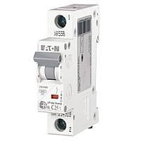 Автоматичний вимикач HL-C25/1p, 4,5 ка, 25А, (194733), xPole Home, Eaton, фото 1