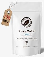 Кофе PureCafe Crema молотый 70% Арабики 30% Робусты Италия 250g