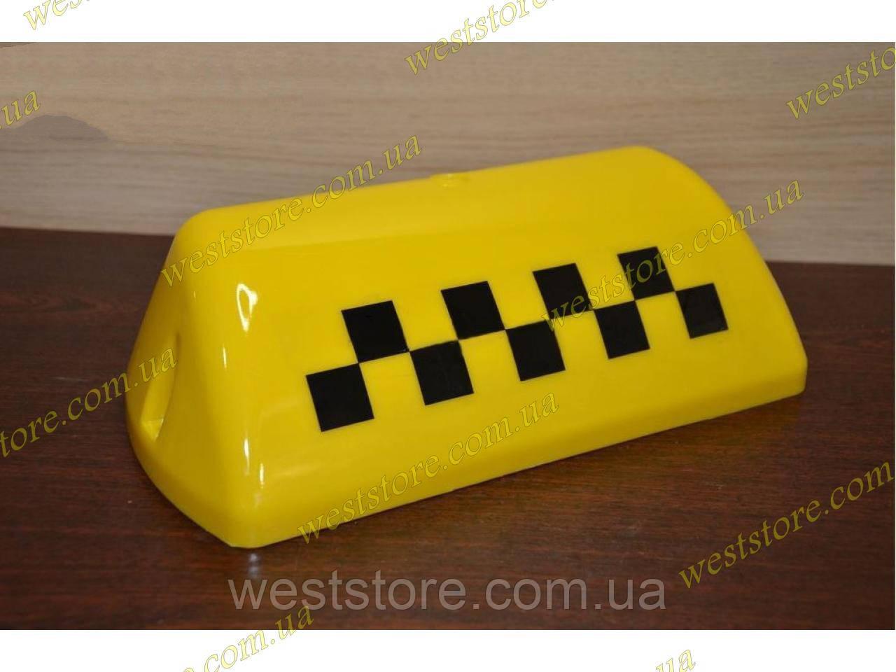 "Стекло фонаря ""Такси"" желтое"