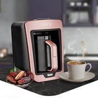 Кофемашина для турецкого кофе Fakir Kaave розовая