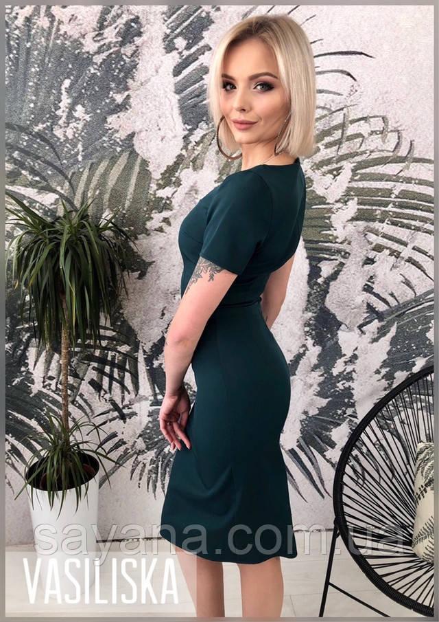 женский костюм: платье с жакетом