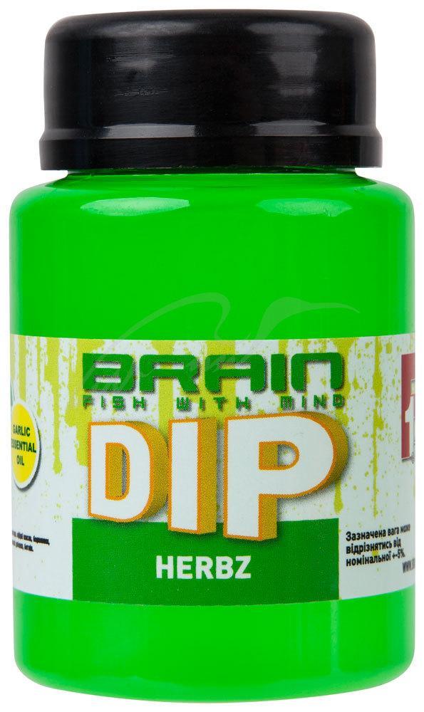 Дип для бойлов Brain F1 Herbz (мята с чесноком) 100ml