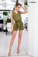 Комбинезон женский с шортами ат 41263 гл Код:933521393