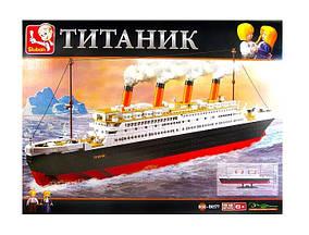Конструктор Титаник Sluban M38-B0577 Титаник-2. 1012 деталей