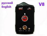 Антирадар V8 (+laser) SKU0000772