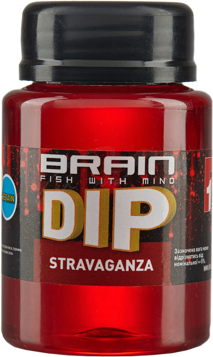Діп для бойлов Brain F1 Stravaqanza (полуниця/ікра) 100ml