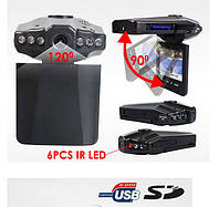 """Автомобильный видеорегистратор 198F Night Vision HD 2.5"""" экран ЧЕРНЫЙ SKU0000771, фото 1"""