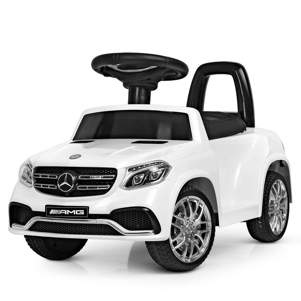Электромобиль детский Mercedes-Benz M 4065EBLR-1(2) с пультом управления, MP3, 2 мотора 15W, колеса EVA